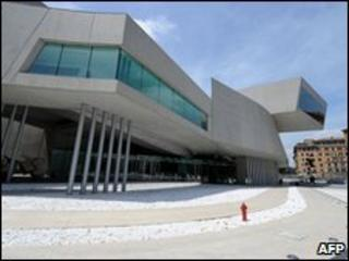 Maxxi art gallery in Rome, Italy (27 May 2010)