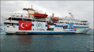 Mavi Marmara (handout by Free Gaza Movement)