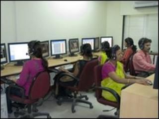 Call centre in India