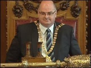 Pat Convery, Belfast's new lord mayor