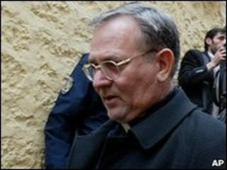 Catholic priest Luigi Padovese (2006 file pic)