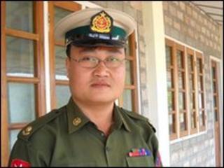 Burmese army major Sai Thein Win says Burma is working towards a nuclear bomb