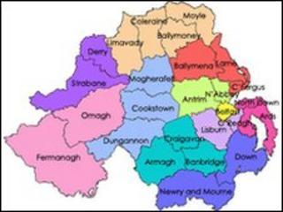 Proposed council boundaries