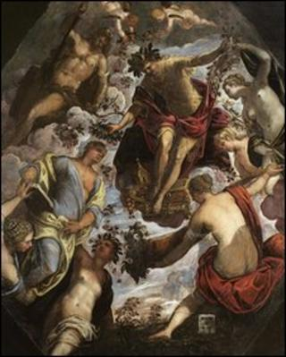 Apollo And The Muses by Jacopo Tintoretto. Copyright: National Trust/PA Wire