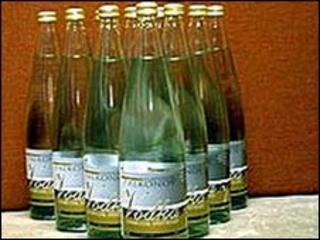 Bottles of vodka, file pic