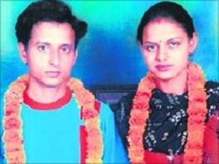 Manoj and Babli (Photo courtesy: Shakti Vahini)