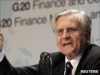 Jean-Claude Trichet, head of the European Central Bank