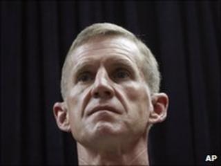 Gen McChrystal in Kabul, May 30