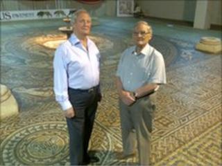 Bob and John Woodward