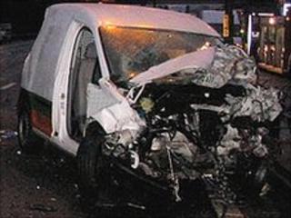 A road crash. Picture: West Midlands Ambulance Service