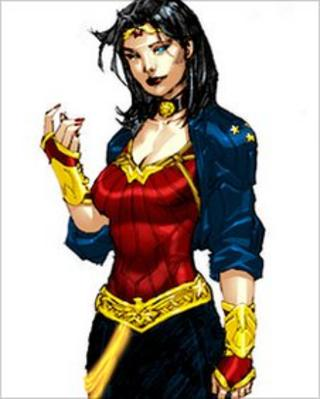 Wonder Woman. Image: DC Comics