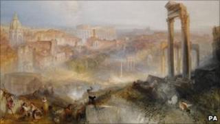 Turner's Modern Rome - Campo Vaccino