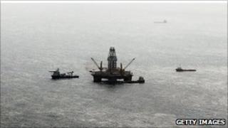Site of Gulf of Mexico spill, 23 July