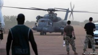 Military exercises in the Sahel region (file photo 2005)