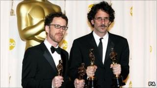 Ethan (left) and Joel Coen