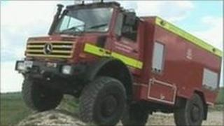 Unimog vehicle