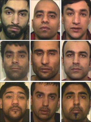 Top row (from left): Aftab Khan, Abid Khaliq and Noorzai Ahmed. Middle row (from left): Mohammed Anwar Safi, Mohammed Khan and Najibullah Safi. Bottom row (from left): Asad Yousaf Hassan, Mohammed Basharat and Mohammed Atif