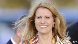 Danish opposition leader Helle Thorning-Schmidt - file pic