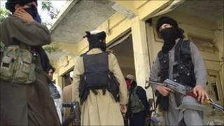 Pakistani Taliban in Buner, north-west Pakistan - 24 April 2009