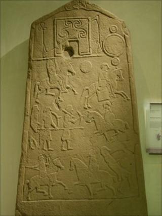 Pictish stone