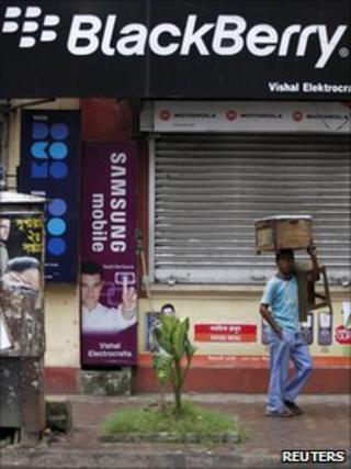 Mobile phone store in Kolkata