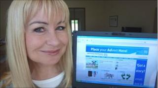 Weather presenter Sian Lloyd launched the website