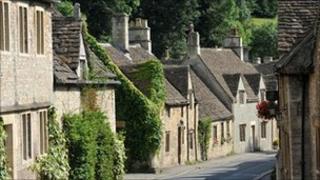 Village in Wiltshire