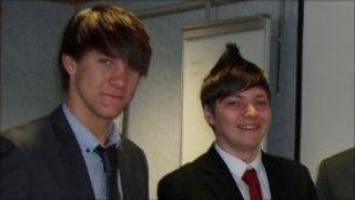 Liam Carter-Hawkins and Daniel Stevens