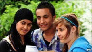 Pupils at Washwood Heath Technology College