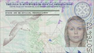 enhanced security features in the new UK passport