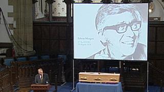 Edwin Morgan funeral