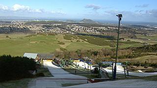Hillend dry ski slope