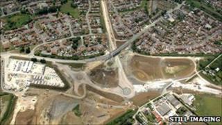 Jurassic and Bincombe roundabouts