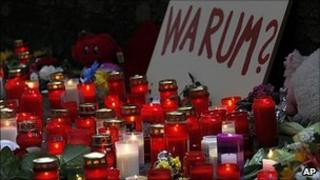Tributes to Love Parade victims