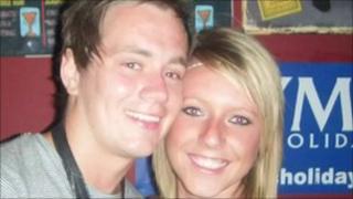 Luke Walker and Chelsea Hyndman