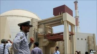 Bushehr nuclear power plant in southern Iran