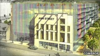 How the Ann Street site could look