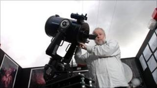 Cardiff Astronomical Society's new observatory Photo: Media Wales