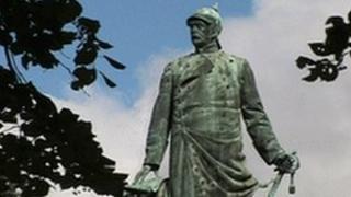 Statue of Otto von Bismarck in Berlin