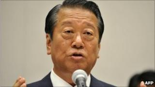 Ichiro Ozawa, seen on 8 Sept 2010