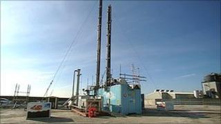 CCS technology pilot project at Longannet