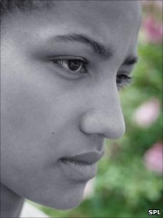 A sad woman. BSIP, Lauren/Filin/SPL