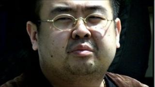 A man believed to be Kim Jong-nam, the eldest son of North Korean leader Kim Jong-il (file photo 2001)