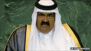 The State of Qatar Emir Sheikh Hamad bin Khalifa