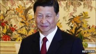 Chinese Vice-President Xi Jinping
