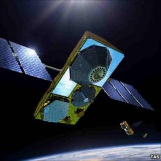 Artist's impression of 2nd-gen satellite (Thales Alenia Space)