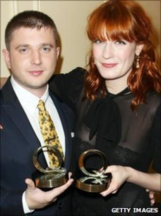 Plan B and Florence Welch