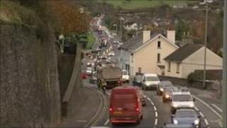 Traffic in Kingskerswell