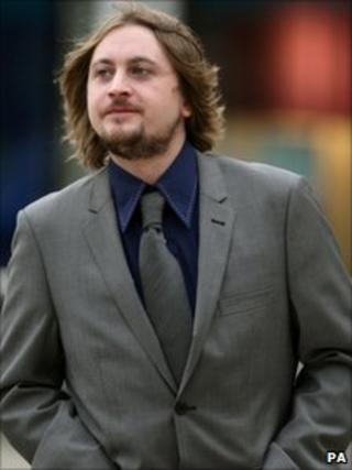 Dave McCabe outside Liverpool Crown Court