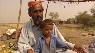 Ilahi Bakhsh and his son